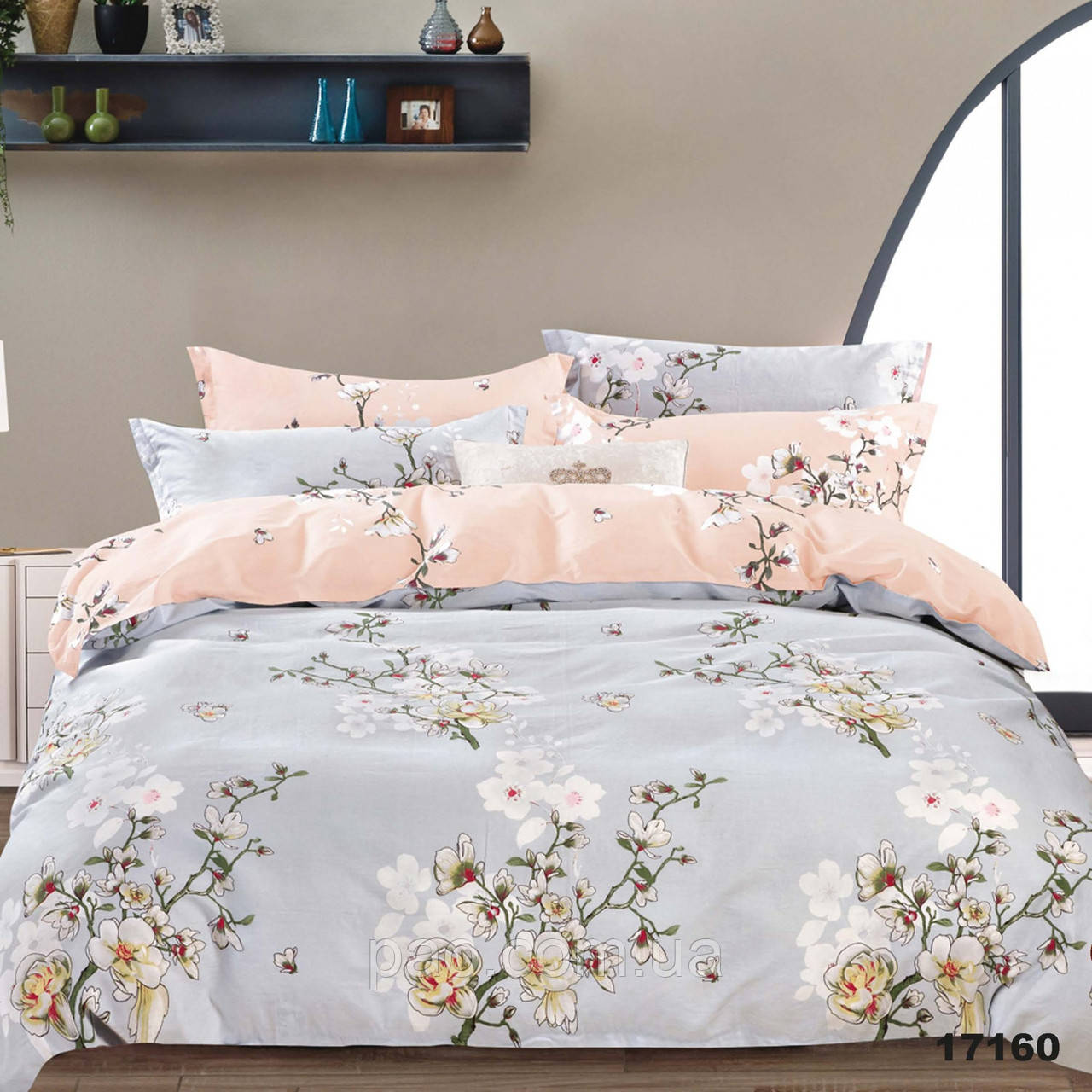 Постельное белье Сакура, ранфорс, 2-спальный набор