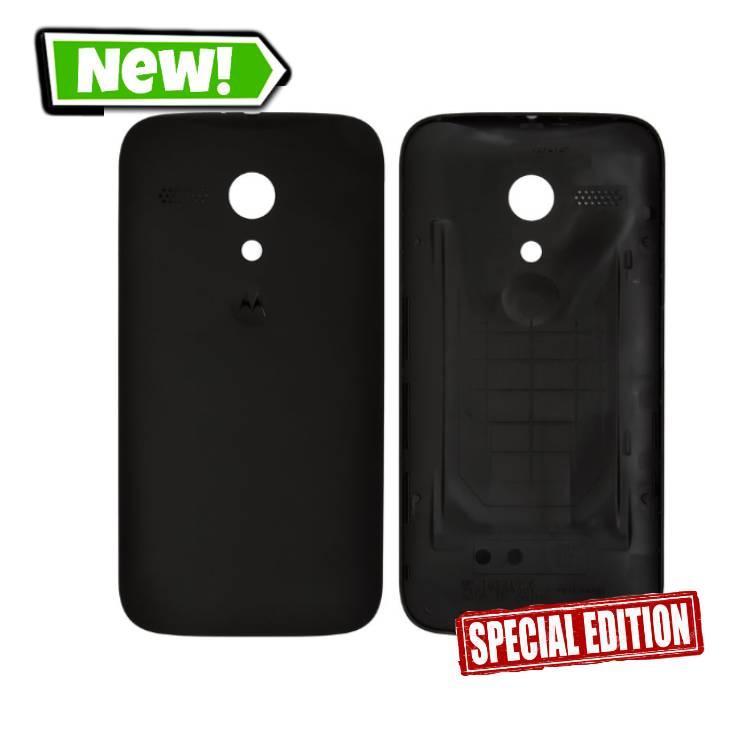 Задня кришка для Motorola XT1032/XT1033/XT1036 Moto G, чорний