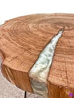 Стол, слеб, эпоксидная смола, журнальный столик, кофейный стол, мебель