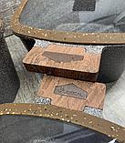 Набор кастрюль 20/24/28см LEXICAL LG-440601-2, антипригарное гранитное покрытие, 6 предметов,Choco, фото 4