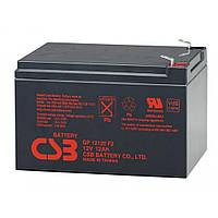 Аккумуляторная батарея AGM CSB GP12120F2 12V 12Ah