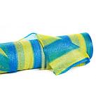 Сетка затеняющая KARATZIS 65% 2мх50м, 100м.кв. Желто-голубая в полоску