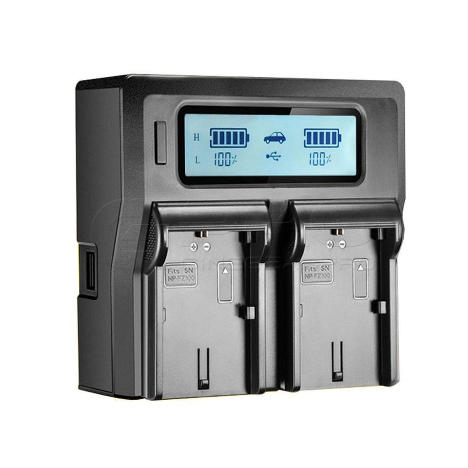 Двойное зарядное устройство KINGMA NP-FZ100  Для  Аккумуляторов SONY