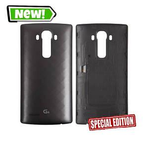 Задня кришка для LG F500/H810/H811/H815/H818N/H818P/LS991 G4, сірий, фото 2