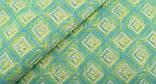Зелений (салатовий) набір тканини для рукоділля - 8 відрізів 25*25 см, фото 5