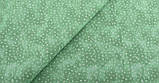 Зелений (салатовий) набір тканини для рукоділля - 8 відрізів 25*25 см, фото 4