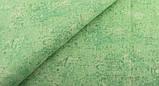 Зелений (салатовий) набір тканини для рукоділля - 8 відрізів 25*25 см, фото 6