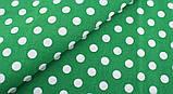 Зелений (салатовий) набір тканини для рукоділля - 8 відрізів 25*25 см, фото 9