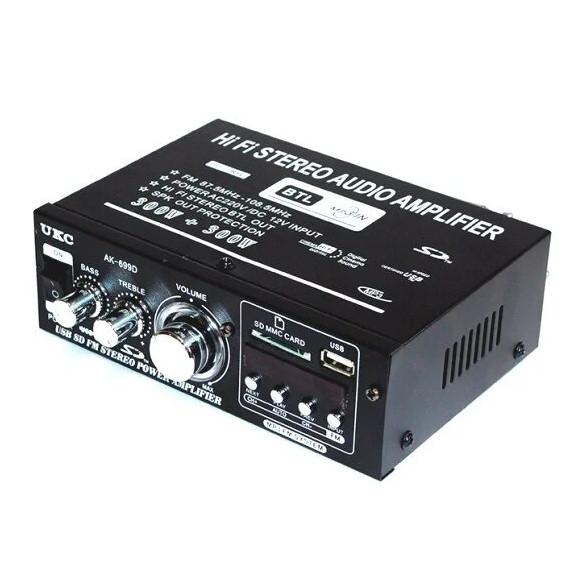 Усилитель ресивер Amp AK-699D c Usb, SD, FM