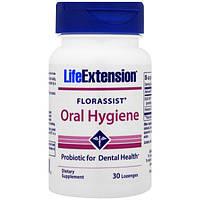 Life Extension, Florassist, средство гигиены полости рта, 30 пастилок