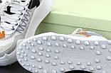 Женские кроссовки Off-White Odsy-1000 в стиле Офф Вайт БЕЛЫЕ (Реплика ААА+), фото 5