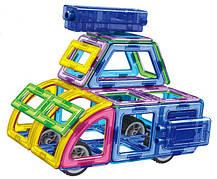 Конструктор Limo Toy магнитный LT5001 «Транспорт» 96 деталей