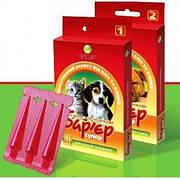 БАРЬЕР СУПЕР-2 капли от блох и клещей для собак и кошек