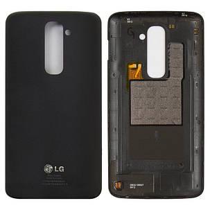 Задня кришка LG D800/D801/D802/D803/D805/LS980 G2 чорний, фото 2