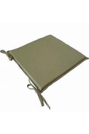 Подушка на стілець 40х40 Еліт Темно зелена, фото 2