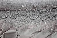 Ткань гипюр реснички шампань ( светлый беж)