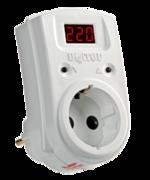 Реле контроля напряжения в розетку 10A DigiTOP Vp-10AS