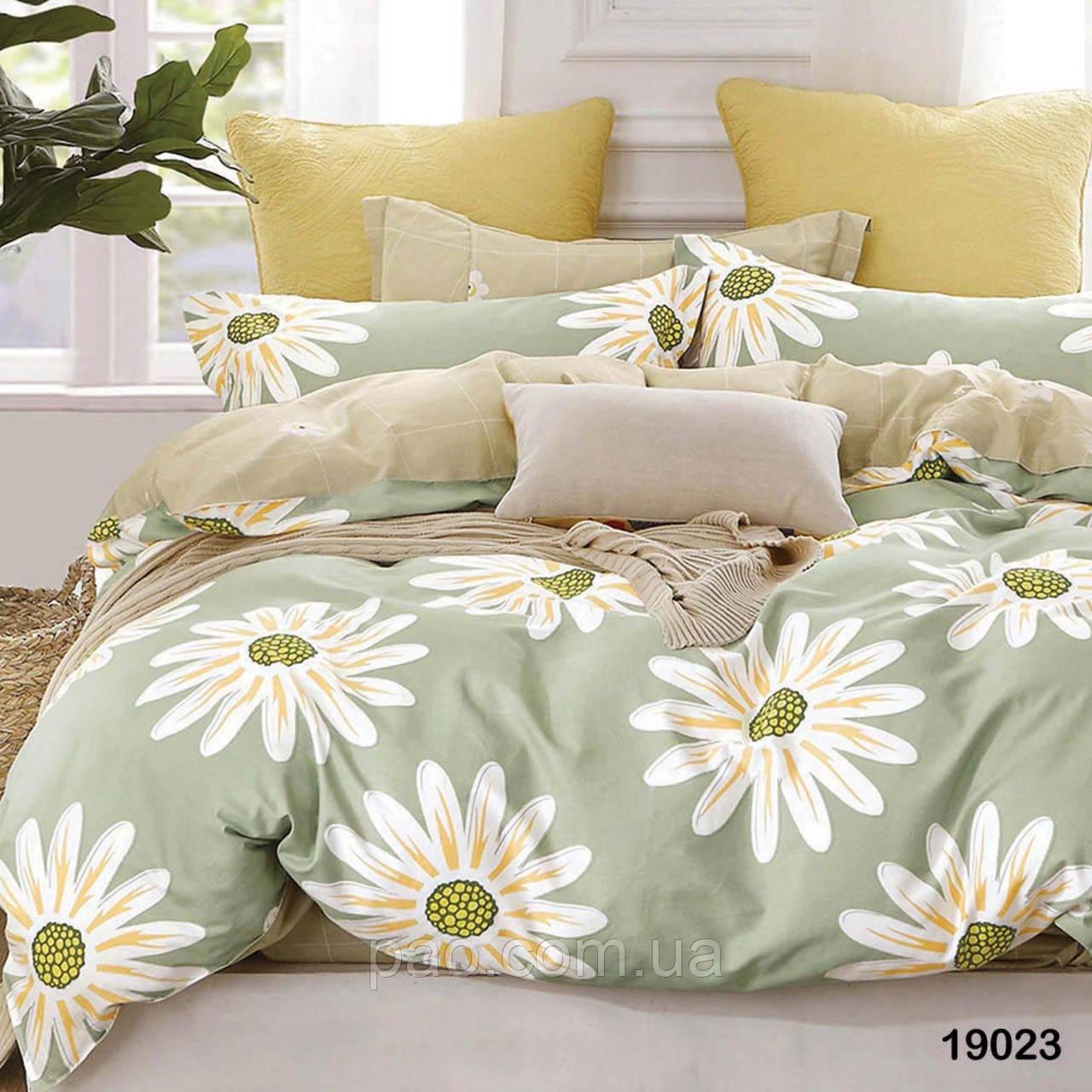 Постельное белье Ромашка, ранфорс, 2-спальный набор