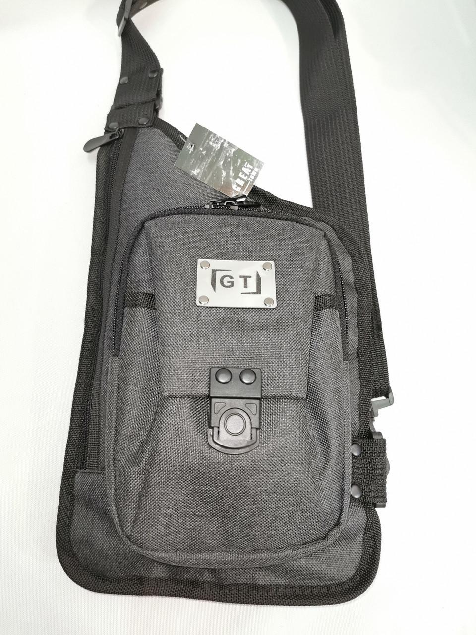 Мужская сумка слинг  36*21 см