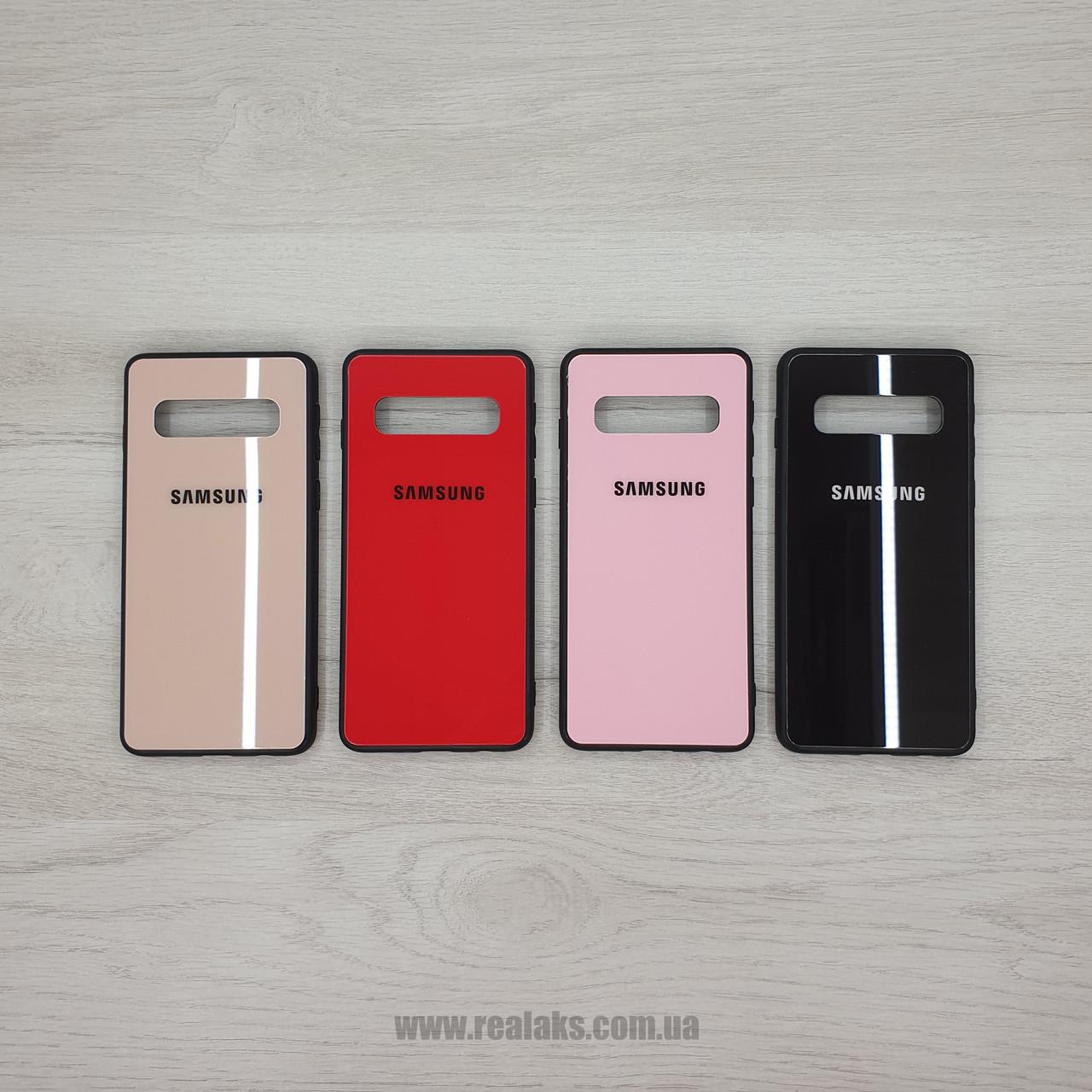 Чехол Color GLASS для Samsung S10