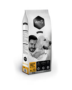 Корм для собак AMITY Iberian Pork&Rice 15 кг. Для всех пород с иберийской свининой и рисом