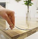 Прозрачная силиконовая скатерть на стол Soft Glass 1.0х1.2 м толщина 2мм Мягкое стекло, фото 2