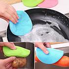 Набор универсальных силиконовых щеток-губок Better Sponge. Губка для мытья. Силиконовый спонж., фото 6