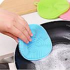 Набор универсальных силиконовых щеток-губок Better Sponge. Губка для мытья. Силиконовый спонж., фото 5