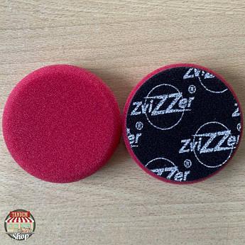 Полировальный круг жесткий ZviZZer Standard, 80 мм/80 мм Красный