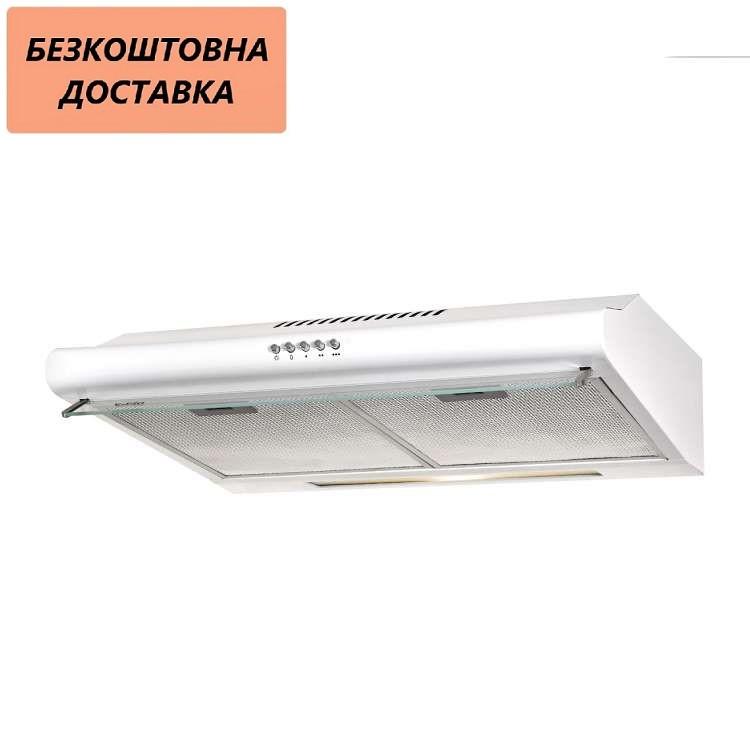 Кухонная вытяжка Ventolux ROMA 50 WH LUX  Белая