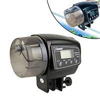 """Кормушка автоматическая для рыб рыбок, автокормушка 1.4"""" ЖК, Resun AF-2005D"""