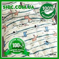 Постельное белье Вилюта (Viluta) ранфорс подростковое 20114. Комплекты постельного белья. Постель подросток.