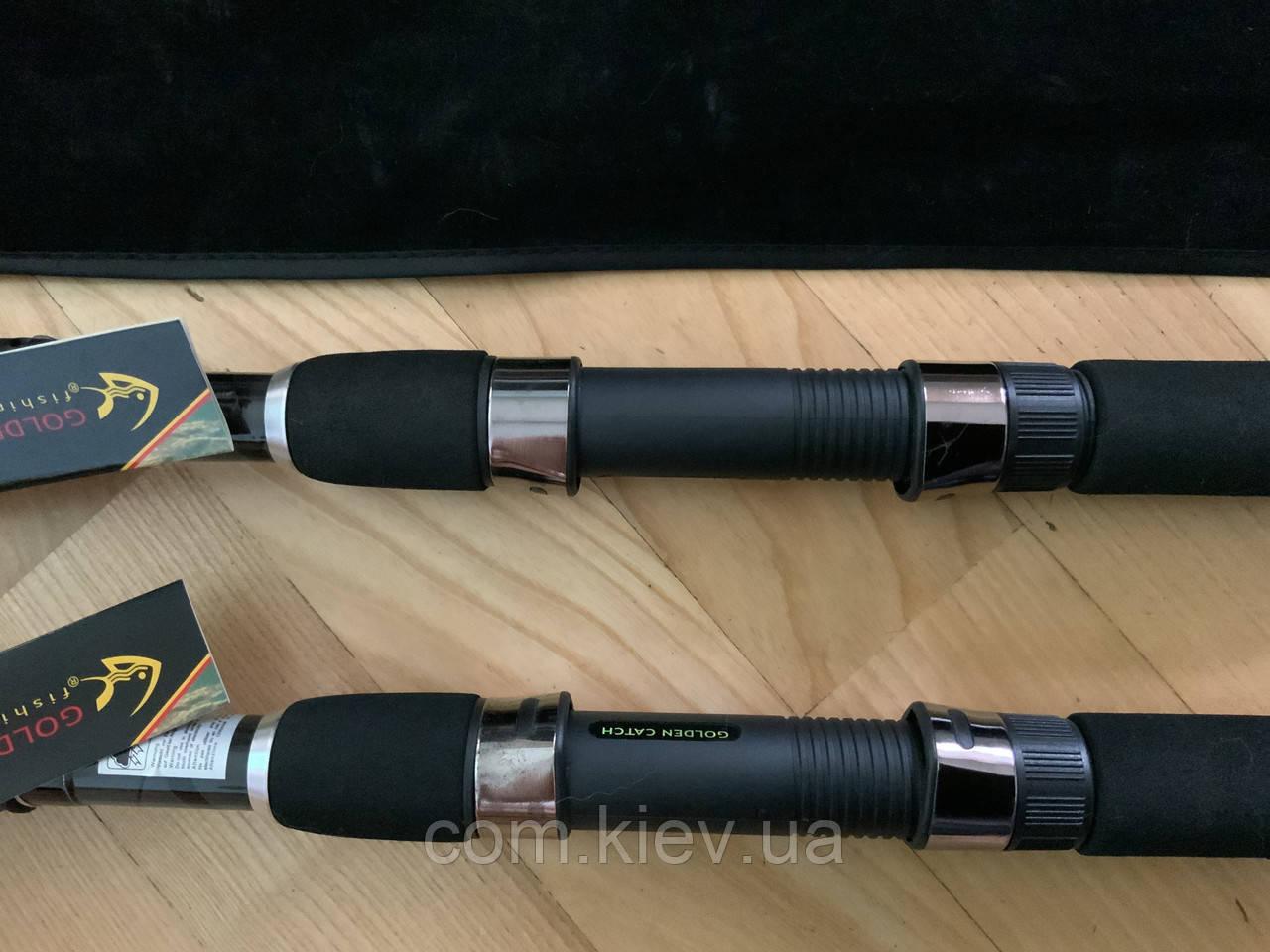 Карповое телескопическое удилище Tele Carp 3.0lbs 3.6 м  Golden Catch