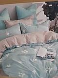 Комплект постельного белья из натурального , хлопка,  ( сатин)  220 х 200, фото 6