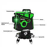 Лазерный Уровень Нивелир HILDA 3D - 12 Линий Laser Level green (LS082), фото 5
