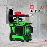 Лазерный Уровень Нивелир HILDA 3D - 12 Линий Laser Level green (LS082), фото 2