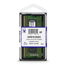 Оперативная память Kingston SODIMM DDR4-2133 8192Mb PC4-17000 (KVR21S15S8/8)
