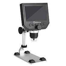 Цифровий мікроскоп з екраном Mustool G600 1-600X 3.6MP LCD HD (G600)