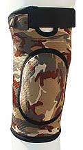 Бандаж для коленного сустава и связок, закрыт ARMOR ARK2106 размер XL, коричневый  (6358859)