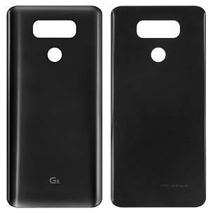 Задня кришка LG H870/H870K G6 Чорний, фото 2