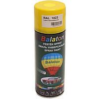 Краска Balaton 1023 желтая 400мл
