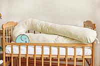 Подушка для беременных 3 в 1 U, PREMIUM 170 см, ТМ Добрый сон, молочная, 13-06/37