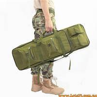 Чехол для винтовки, ружья, карабина, автомата 110см (оружейная сумка, оружейній рюкзак, кейс для оружия)