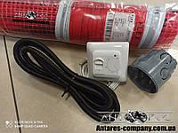 Тонкий  нагревательный мат, FLEX EHM - 175 / 6м / 3 м2 / 525 Вт + механический RTC 70.26