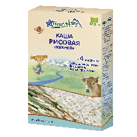 Каша молочная Fleur Alpine Organic рисовая , с 4 месяцев, 200 г