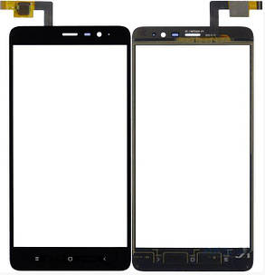 Сенсор (тачскрін) для Xiaomi Redmi Note 3 Pro SE (Special Edition) чорний, фото 2