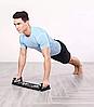 Доска для отжиманий Push Up Rack Board MJ - 040 / Упоры от пола / Тренажер для упражнений, фото 10