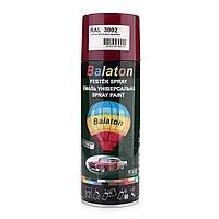Краска Balaton 3002 темно красная 400мл