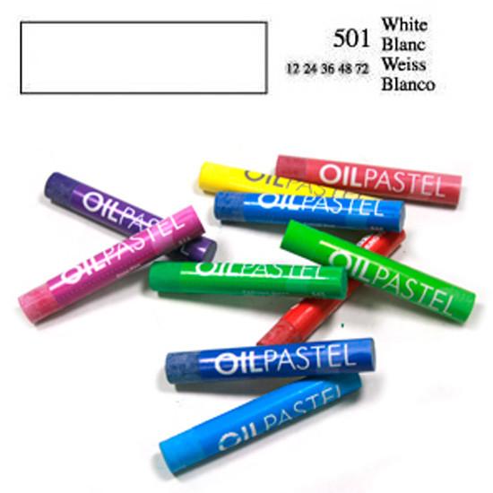 Пастель масляная 501 Белый