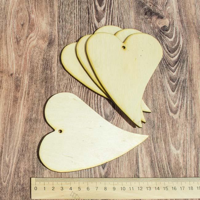 Заготовка из фанеры Сердце-капля